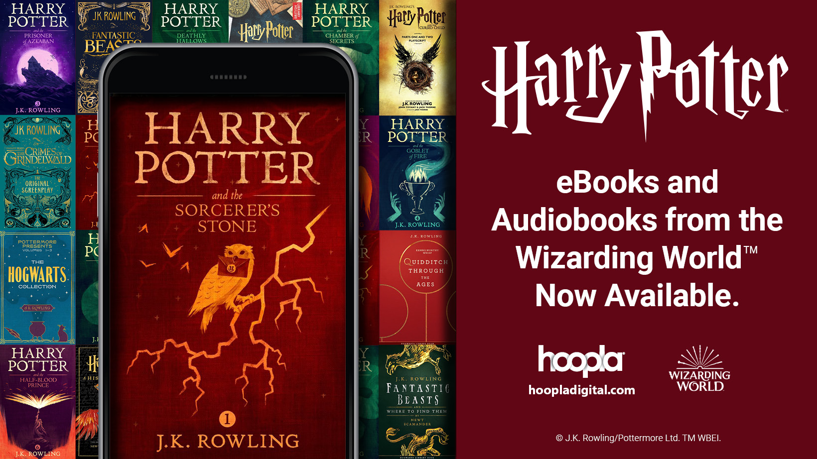 All Harry Potter Books Now Available on HOOPLA!