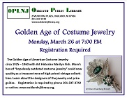 Golden Age of Costume Jewelry